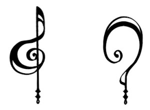 synchronicity treble clef